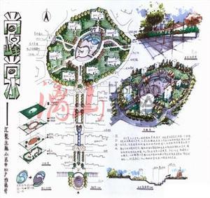 广西园林景观考研快题
